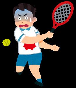 テニス肘 イラスト